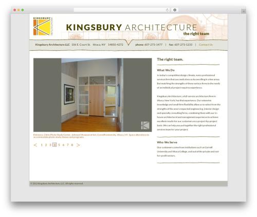 Twenty Twelve WordPress theme download - kingsburyarch.com