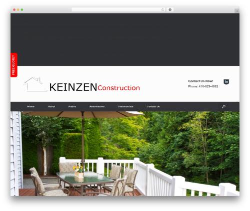 Free WordPress Footer Putter plugin - keinzenhomeimprovement.com