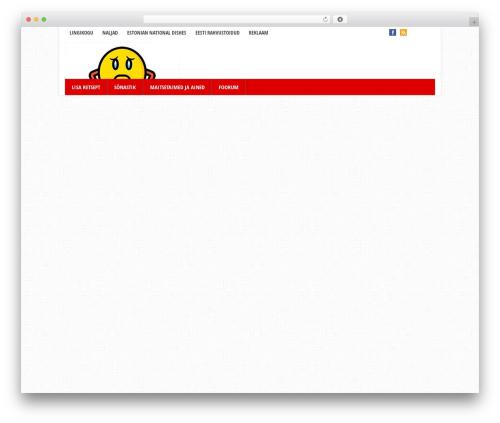 WordPress theme Eris - kokaraamat.ee