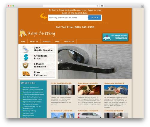Free WordPress WP PageNavi Style plugin - keys-cutting.com