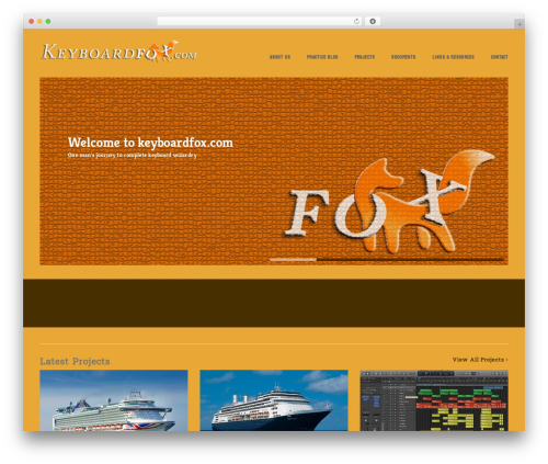 WordPress theme Victoria - keyboardfox.com