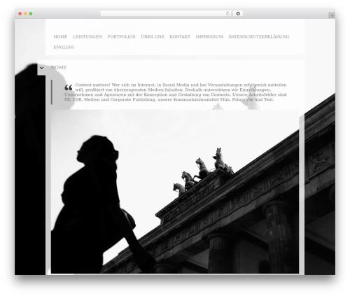 WP theme Black Label - konzeptautoren.de