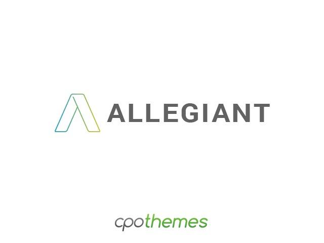 Allegiant Pro Child company WordPress theme