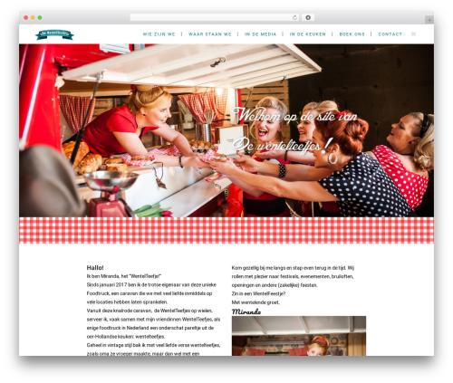 Bridge food WordPress theme - dewentelteefjes.nl