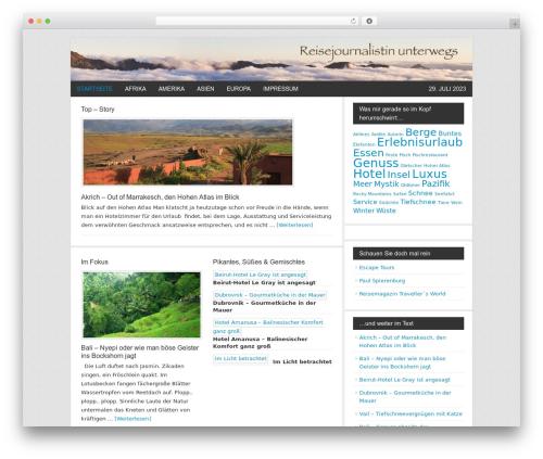 Genesis theme WordPress - kikibaron.de