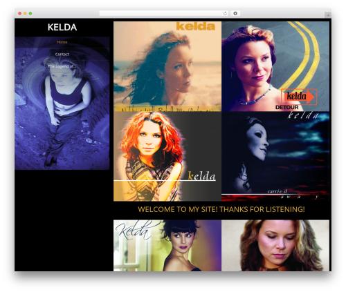 Portfolio Gallery WordPress theme free download - kelda.net