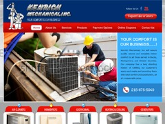 Template WordPress Kenrich Mechanical