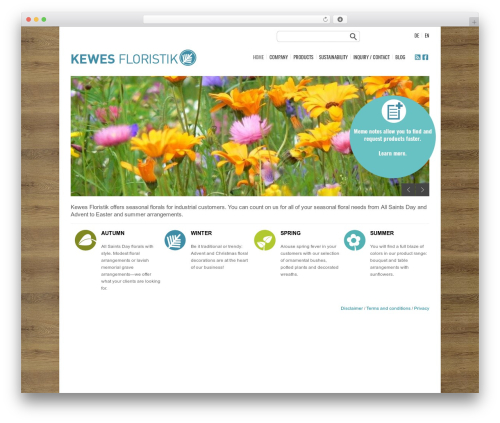 Template WordPress Smartgroup - kewes.com/wp