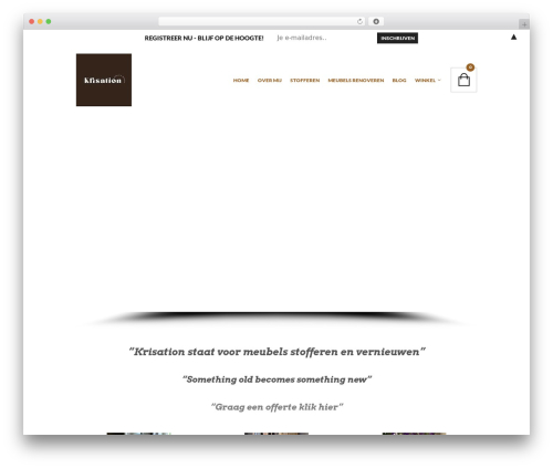 The Retailer best WordPress theme - krisation.be
