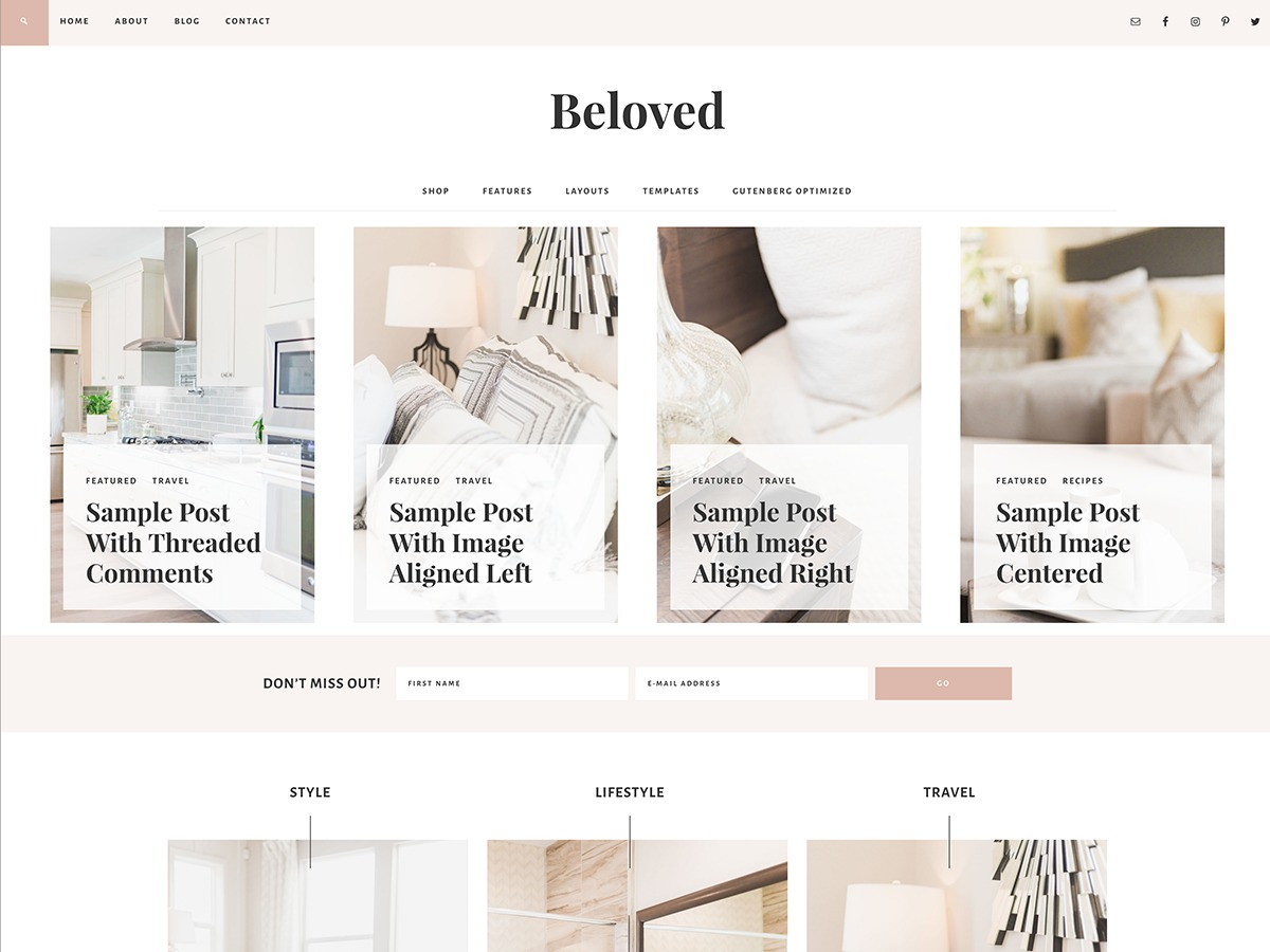 Beloved Theme best WooCommerce theme