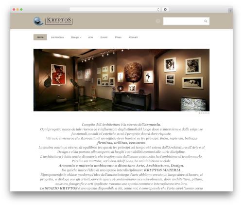 BrightBox WordPress theme - kryptosmateria.it