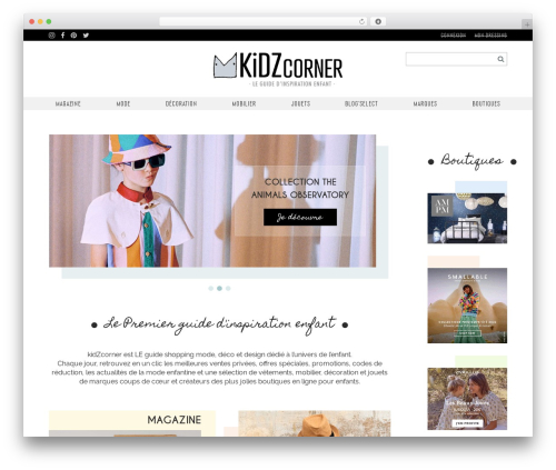 Free WordPress Menu Image plugin - kidzcorner.fr