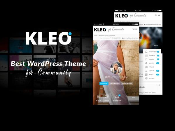 Kleo best WordPress theme