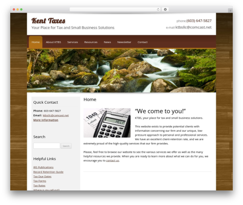 Template WordPress Customized - kenttaxes.com