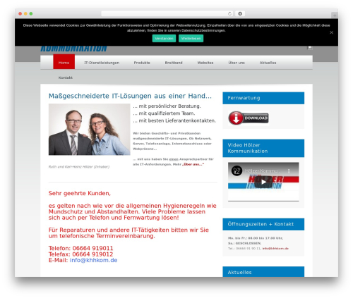 Template WordPress Klasik - khhkom.de