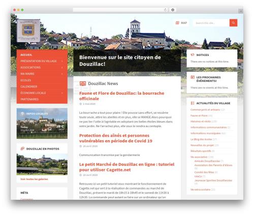 TownPress theme WordPress - douzillacmonvillage.fr