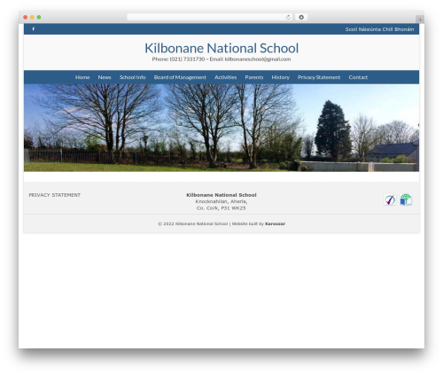 Virtue WordPress theme free download - kilbonaneschool.com