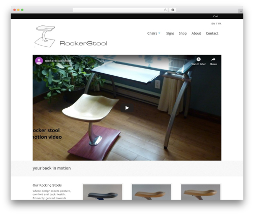 Whitelight premium WordPress theme - kokaneeproducts.com