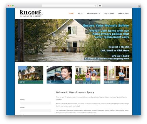 WordPress template Hotec - kilgoreinsuranceagency.com