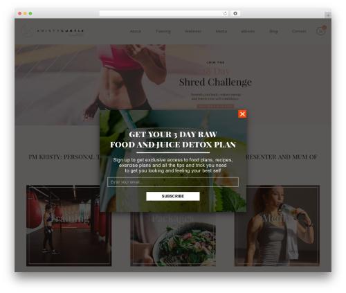 WordPress arscode-ninja-popups plugin - kristycurtishealth.com