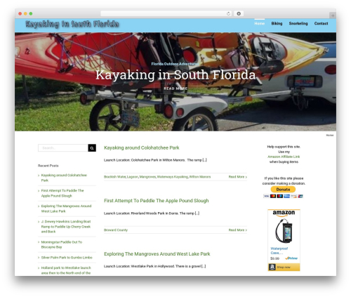 Avada WordPress theme - kayaking.floridaoutdooradventures.info
