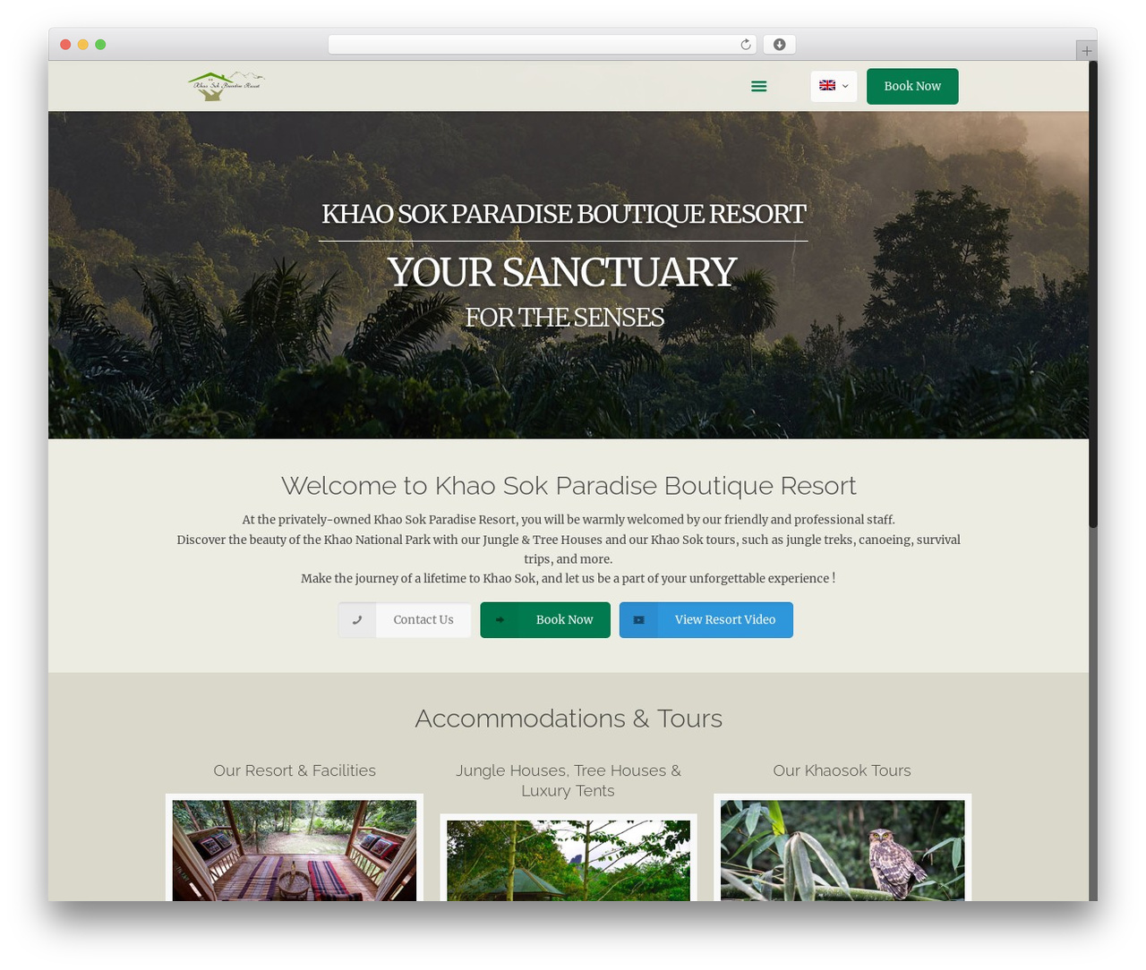 Betheme theme WordPress - khaosokparadise.com