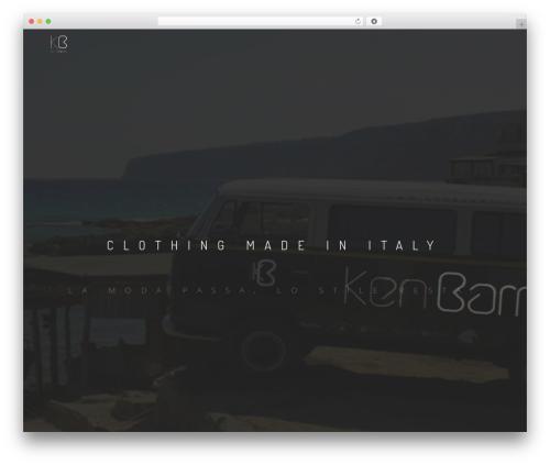 Rhythm theme WordPress - kenbarrell.com