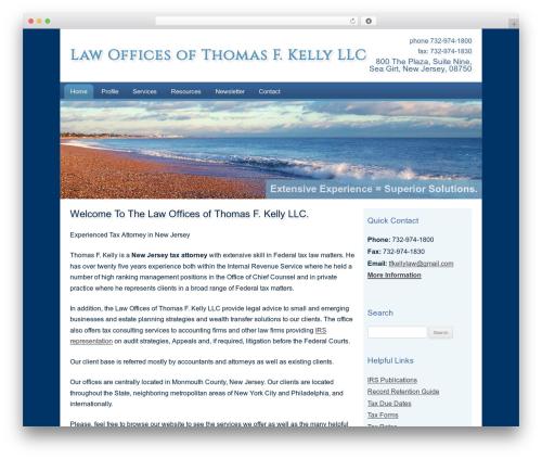 Theme WordPress Customized - kellytaxlaw.com