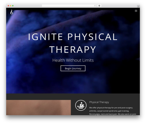 Themify Ultra WordPress template - dev.ignitetherapy.com