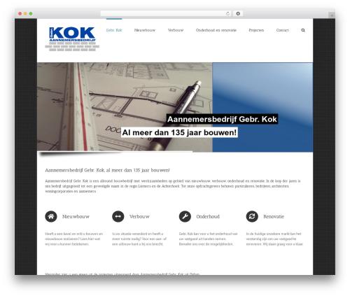 WordPress theme Avada - gebr-kok.nl