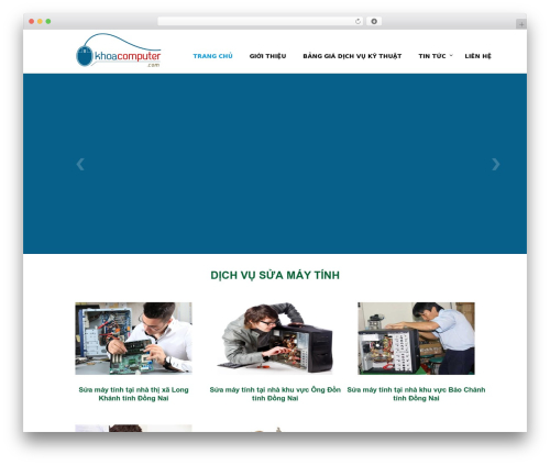 WordPress theme Envision Child - khoacomputer.com