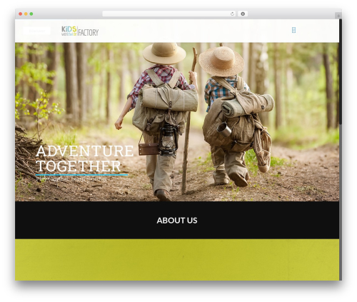 WordPress website template Betheme - kidsworldwide.de