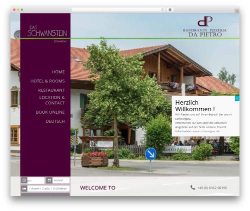 Basisframework WordPress theme - das-schwanstein.de