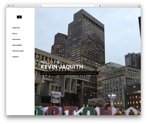 Brando WordPress theme - kevinjaquith.com