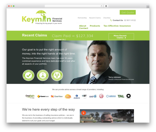WordPress tmls_testimonials plugin - kfs.net.au
