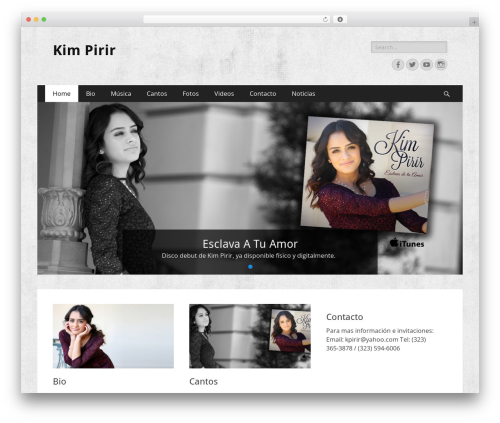 Catch Responsive best free WordPress theme - kimpirir.com