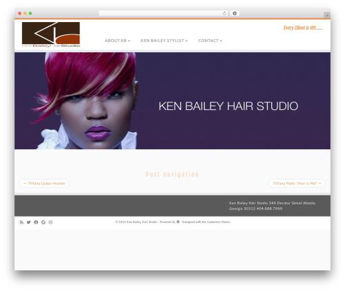 Customizr WordPress template - kenbaileyatl.com