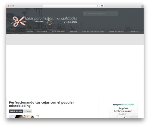 Daily Stories best free WordPress theme - keyks.es