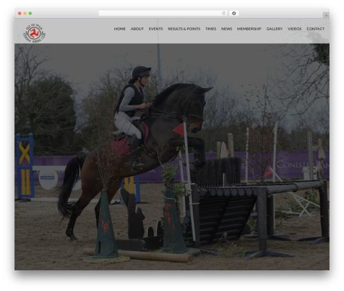 HorseClub best WordPress template - kennaaridingclub.com