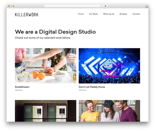 WordPress instagram-picture plugin - killerwork.nl