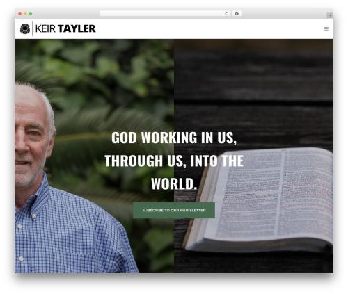 Movedo WordPress theme - keirtayler.com