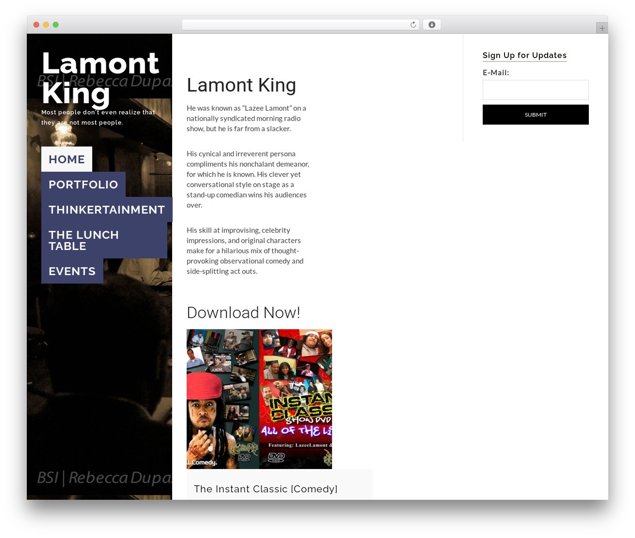 Wordpress Website Template Qoon Child By Orangeidea Kinglamontcom