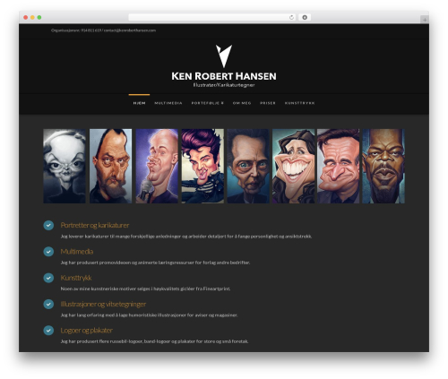 X WordPress theme - kenroberthansen.com
