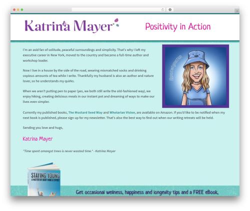 Free WordPress Slick Sitemap plugin - katrinamayer.com