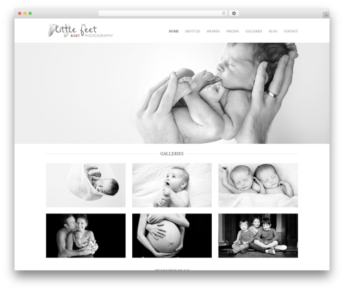 Hero premium WordPress theme - dev.littlefeetphotography.com.au