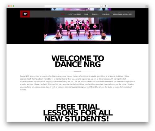 Inside Theme WP theme - dancenrg.com.au