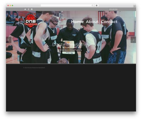Salient WordPress news template - dontenewsomebasketball.com