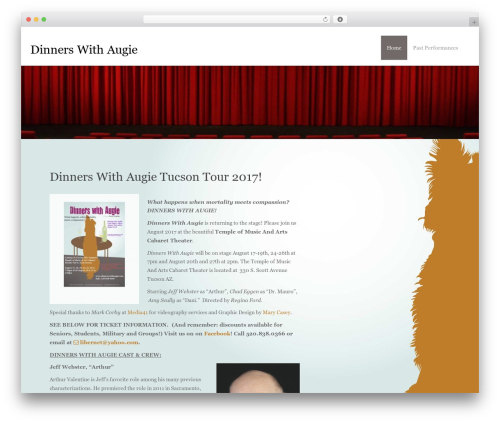 Theme WordPress Inception - dinnerswithaugie.com