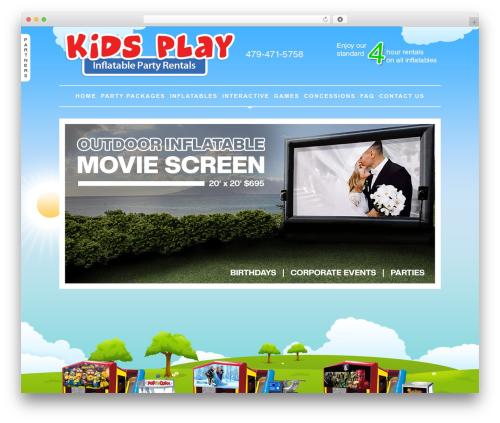 Theme WordPress ProPhoto - kidsplayrentals.com