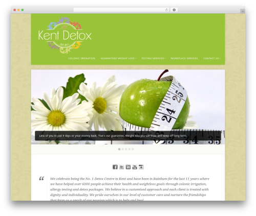 WordPress slider-pro plugin - kentdetox.co.uk